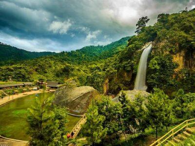 Berwisata ke Curug Bidadari Sentul Paradise Park Bogor