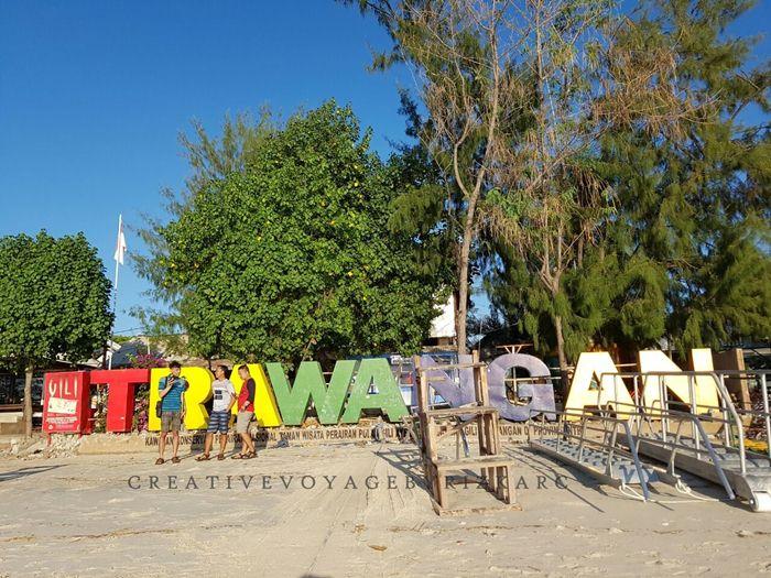 backpacker ke lombok - Gili Trawangan