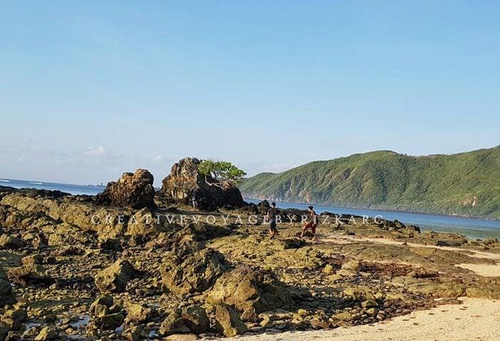 backpacker ke lombok - suasana pantai Kuta lombok