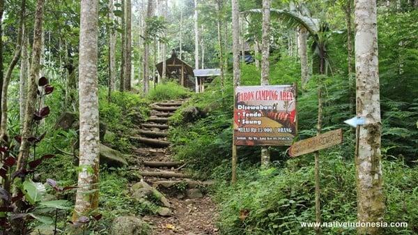curug cibareubeuy - jabon camping area