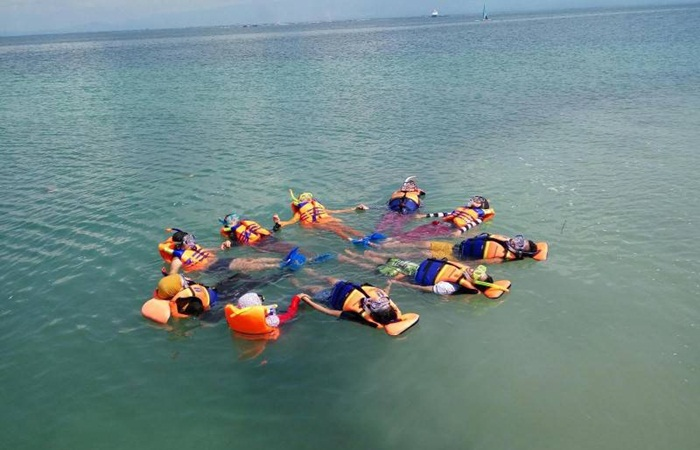 latihan snorkeling-gili-ketapang