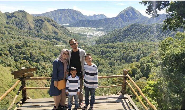 Rekreasi Keluarga di taman wisata pusuk sembalun