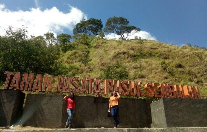 Later nama lokasi Taman Wisata Pusuk Sembalun