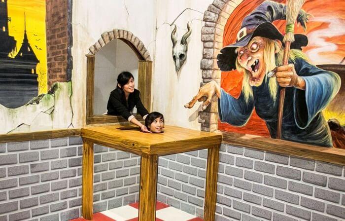 di sarang penyihir Old City 3D Trick Art Museum