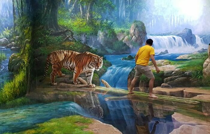 diserang harimau