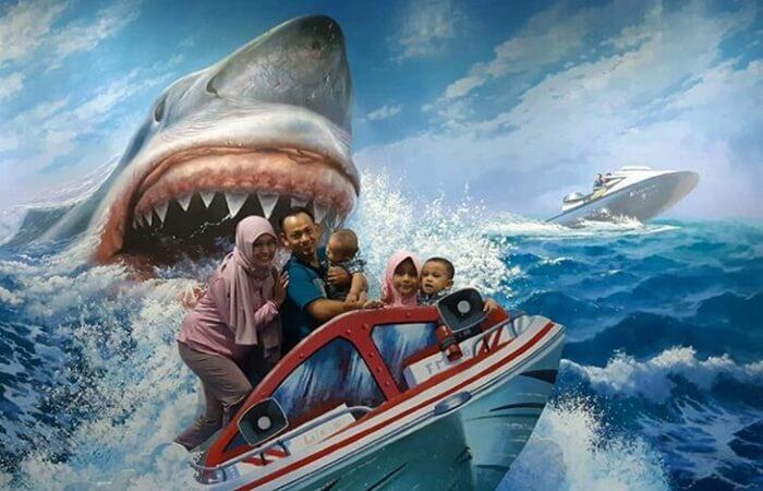 foto keluarga ekstrim
