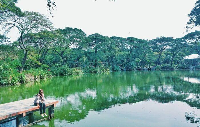 kebun bibit wonorejo, lokasi rindang dan sejuk di tengah Metropolit Surabaya