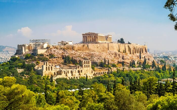 Dilihat dari sudut kota manapun, Tempat Wisata di Yunani Acropolis sangat menakjubkan