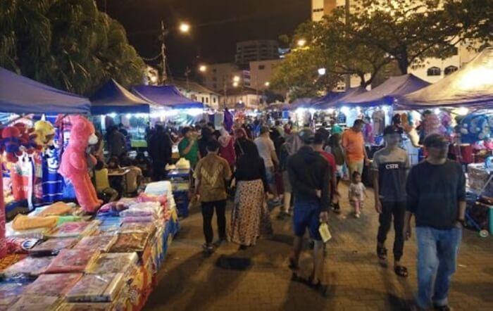 night market, tempat wisata di johor bahru yang mengajak untuk mengahbiskan malam dengan menyenangkan dan mencuci mata