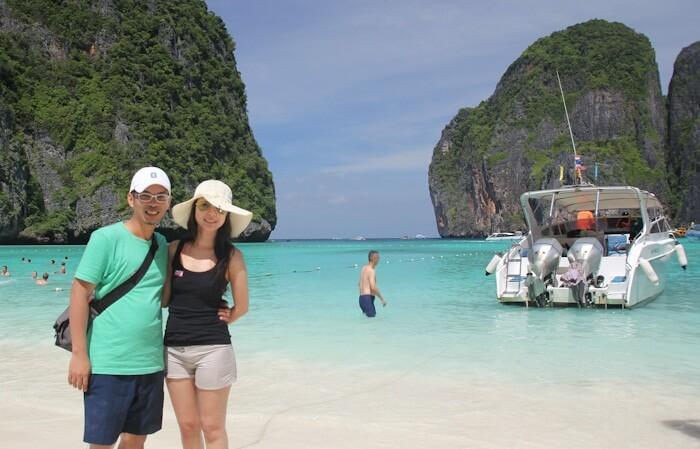 tempat wisata di Phuket yang mendunia semenjak dipopulerkan dalam film the beach