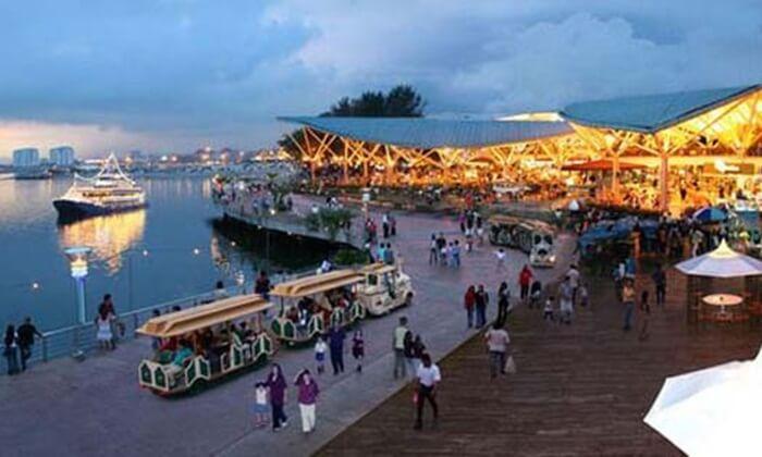 teluk danga, teluk indah yang menjadi lokasi bnayak tempat wisata di johor bahru