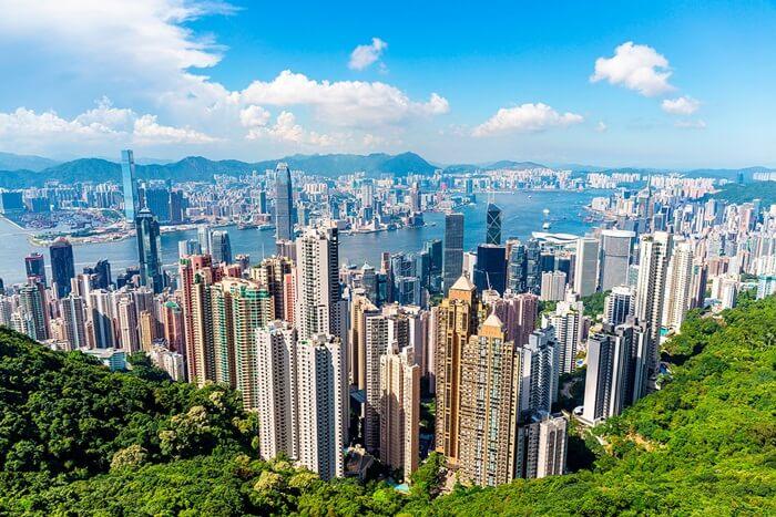 Tempat wisata di Hongkong terdiri dari taman theme park Modern, bangunan bersejarah, hingga bentang alam.