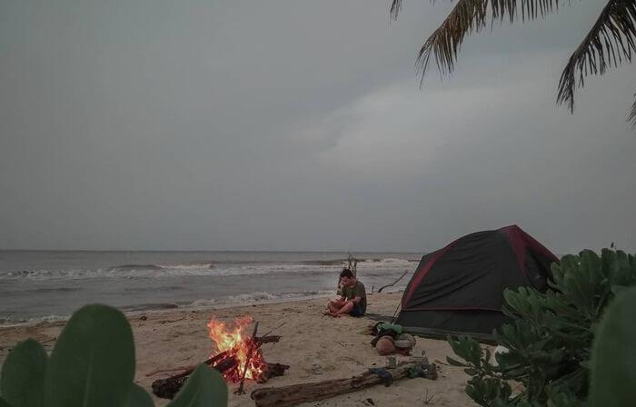 camping tanjung medang pulau rupat