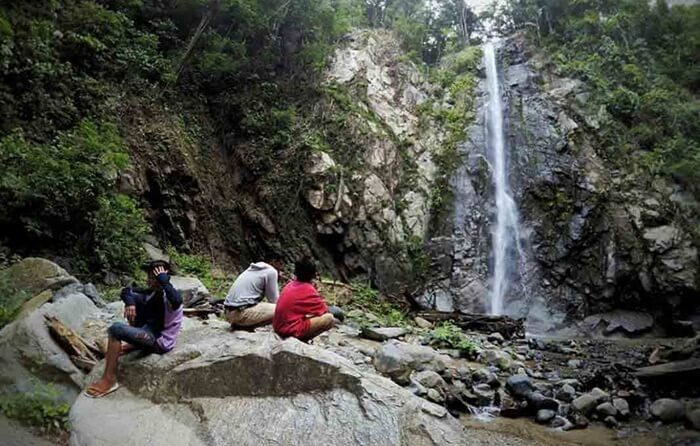 Dengan ketinggian yang mencapai 42 meter, Taludaa menjadi suatu fenomena alam yang diminati pengunjung.