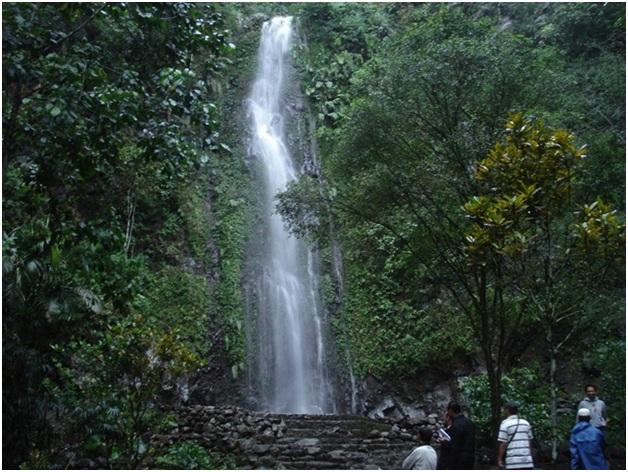 Saat memasuki kawasan tempat wisata Sleman ini, pengunjung akan disambut dengan jalan setapak berbatu yang sudah tersusun rapi