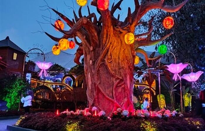 Magic Forest lembang wonderland, salahs atu sudut yang difaforitkan pengunjung