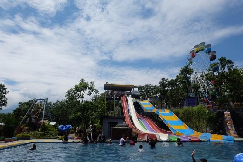 Beberapa Seluncuran Yang Ada Di Kediri Waterpark