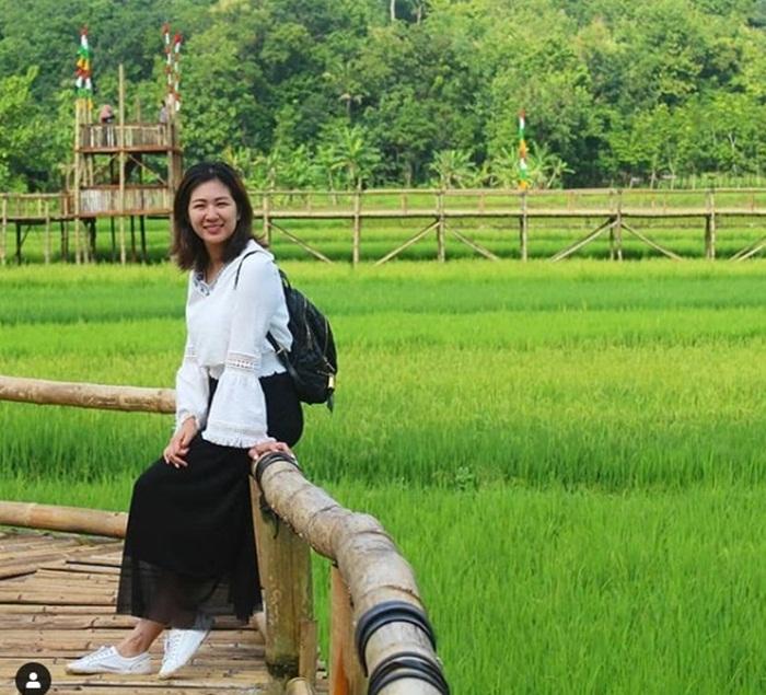 Sawah di sana terbilang sangat rapi dan enak dipandang mata dan terawat oleh pengelola wisata dan petani di sana.