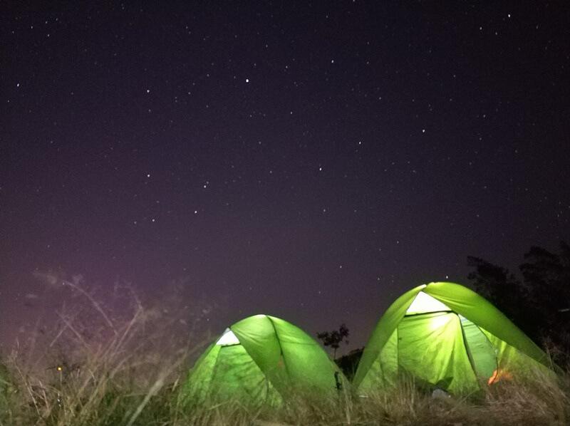 Aktivitas Camping Di Bukit Klangon