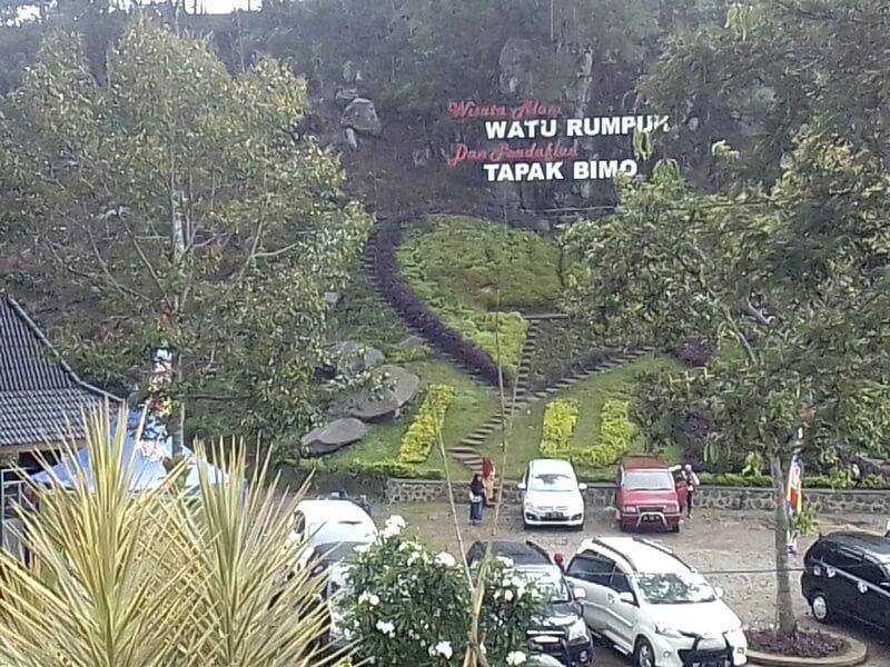 Watu Rumpuk Tapak Bimo