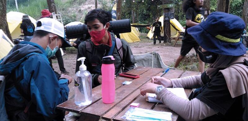 Acara Camping Di Coban Putri