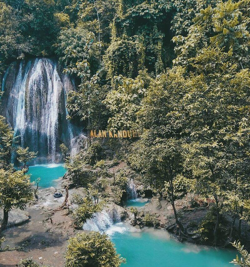 Air Terjun Alas Kandung Berada Di Hutan Atau Alas