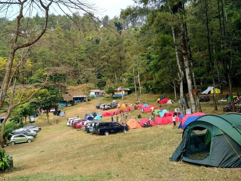 Camping Di Area Air Terjun Dlundung
