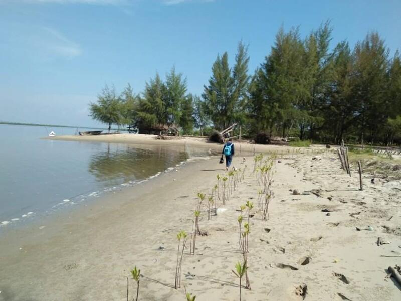 Pesona Keindahan Pantai Kuala Parek