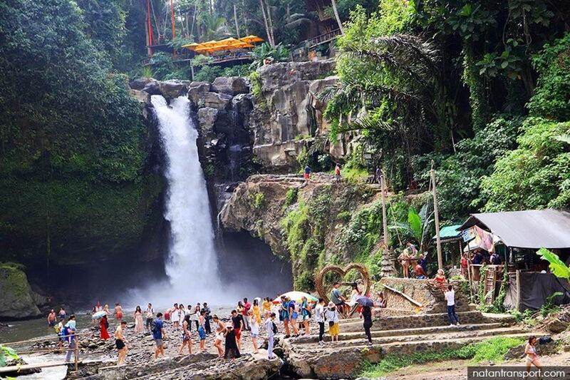 Air Terjun Tegenungan Ramai Kunjungan Wisatawan