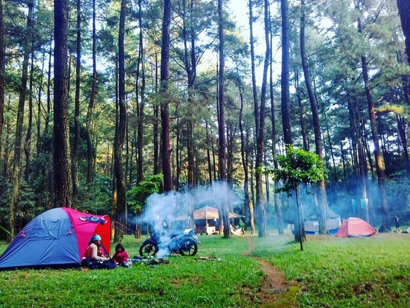 Camping Di Curug Cipeuteuy Majalengka