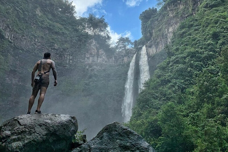 Coban Sriti Adalah Salah-Satu Air Terjun Yang Sangat Tinggi Di Indonesia