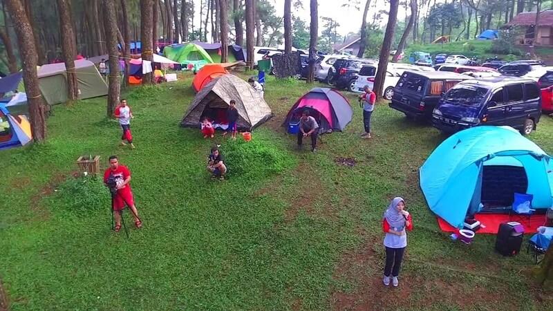 Salah-satu Area Camping Ground