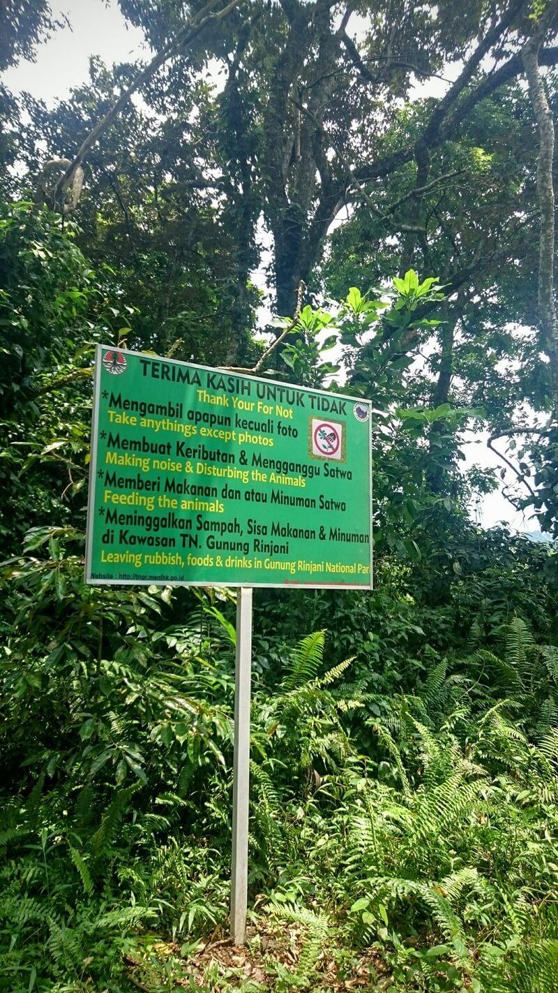 Larangan Di Taman Nasional