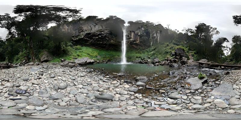 Pesona Alam Sekitar Air Terjun Putri Malu