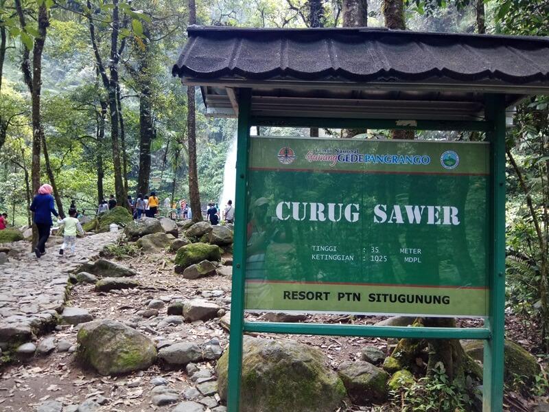 Area Curug Sawer