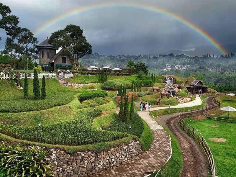 the nature of Tembi village