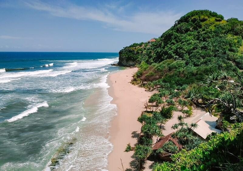 landscape pantai sanglen