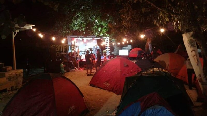 camping di pulau karampuang