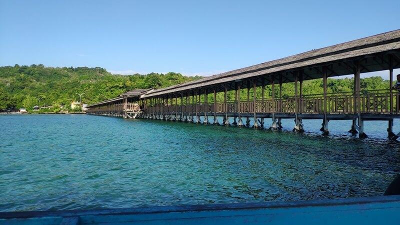 dermaga pulau karampuang