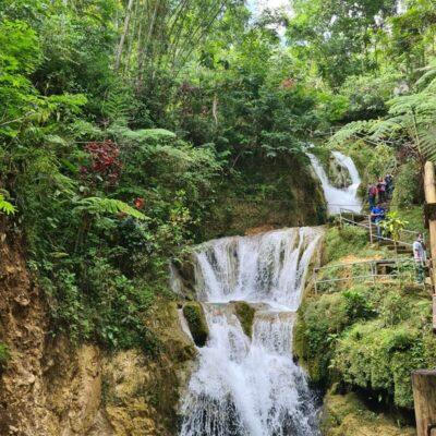 Taman Sungai Mudal, Bak Secuil Taman Surga Di Tanah Kulon Progo